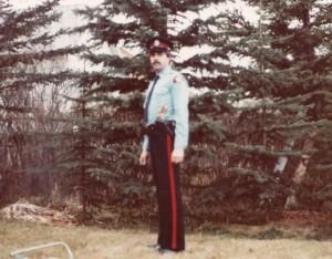Constable Dwayne Clayden, CPS, 1978