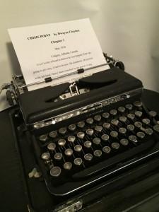 Dwayne Clayden's Typewriter
